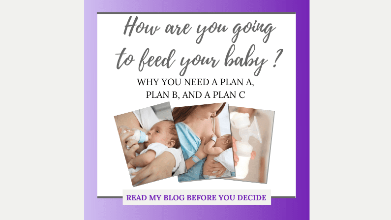 Feeding Your Baby – Why Anticipating Problems Can Help.