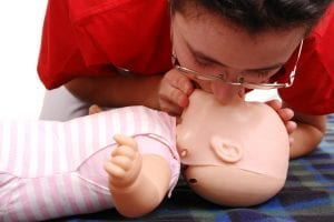 CPR for babies