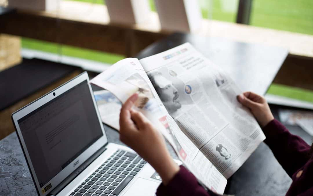 How to write a press release for your local newspaper
