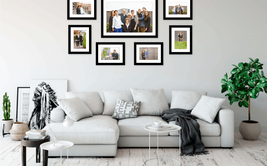 Your Family Photoshoot as Wall Art